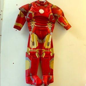 Toddler boys Iron Man costume Size 2T